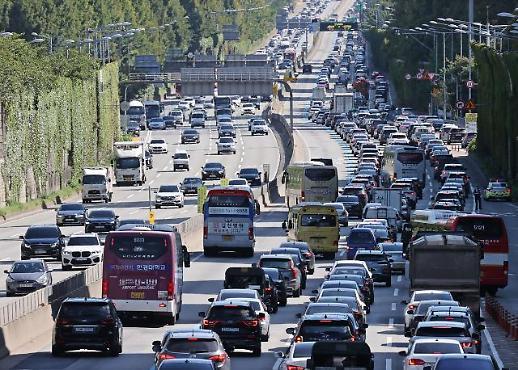 车马辐辏也要回家团圆!中秋期间韩国实行特别交通政策