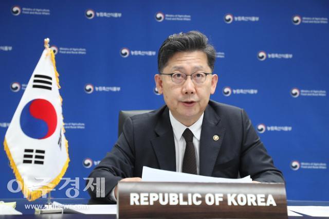 김현수 농식품장관, 저탄소·디지털 농업혁신 잰걸음