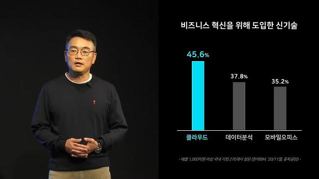 """[경계불문 DX] 삼성SDS """"클라우드, 비용절감 아닌 기업혁신 플랫폼"""""""