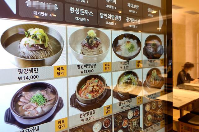 서민밥상 위협하는 외식물가 고공행진…햄버거 9%·김밥 5%↑