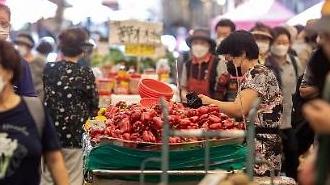 7月の小売売上高、43.3兆ウォン・・・前年同月比11.6%↑