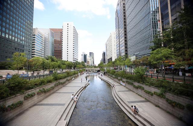 [슬라이드 포토] 한산한 추석... 서울 도심 텅텅