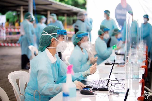 [NNA] 태국 신규감염자 1.27만명, 사망자 106명(20일)