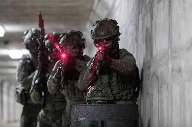 [광화문갤러리] 육군, 첨단기술 접목한 '워리어 플랫폼' 전투실험 공개