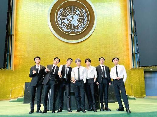 发挥偶像力量 BTS联大演讲获外媒盛赞