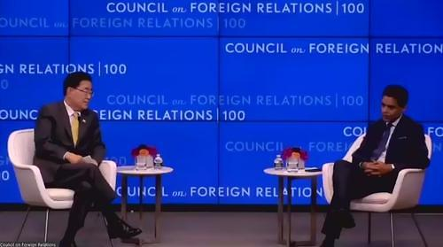 郑义溶:中国实现飞速发展 开展强势外交理所当然