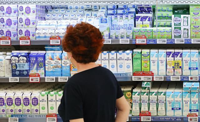 우유값도 올랐다…밀크플레이션 현실화하나