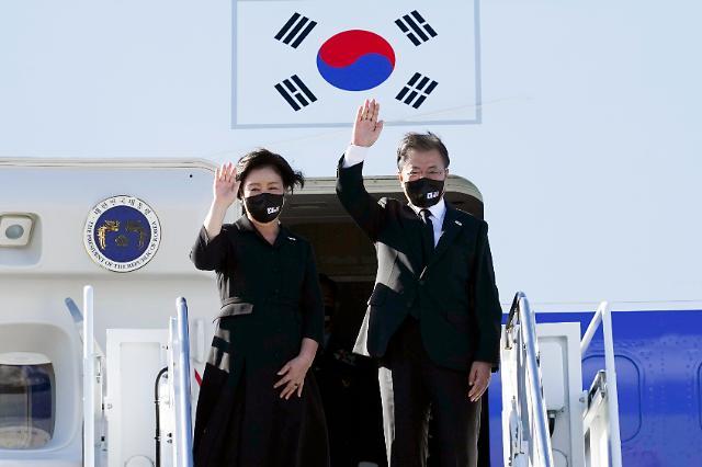 """文대통령 """"종전선언에 국제사회 공감…한국, 연대·협력 모범"""""""