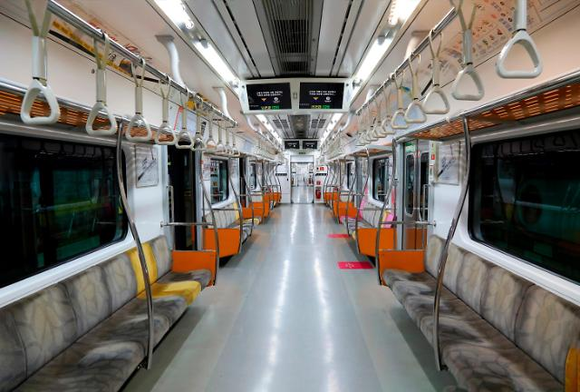 S. Korea to install CCTV cameras in all subway trains to prevent crimes