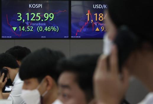恒大危机短暂冲击韩国股市 市场关注FOMC会议减码信号