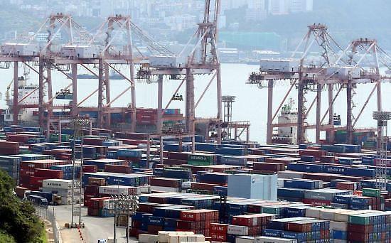 韩国9月前20天出口同比上涨22.9% 日均增31.3%