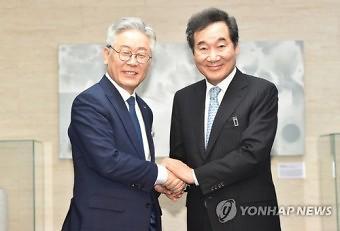이재명‧이낙연, 홍준표‧윤석열 지지율 접전…李‧李, 4%포인트 차