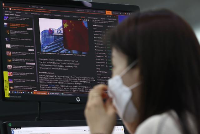 중국 헝다, 채무불이행 1차 위기 일단 넘겨...1400억원 규모 이자 해결