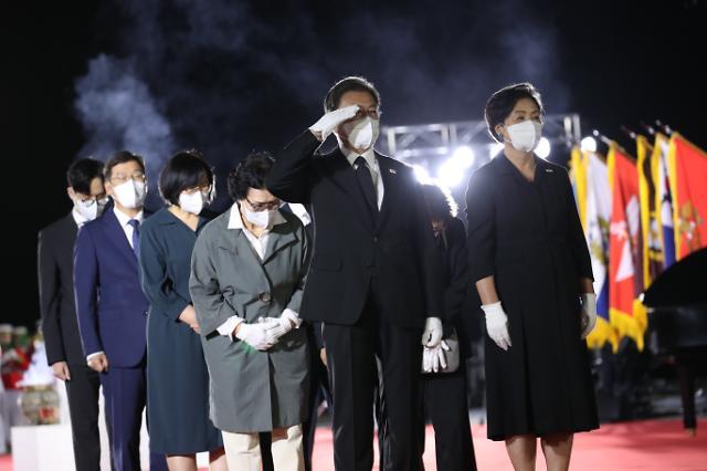 6·25 전쟁 국군 전사자 유해 68구 고국 품으로...봉환식 엄수