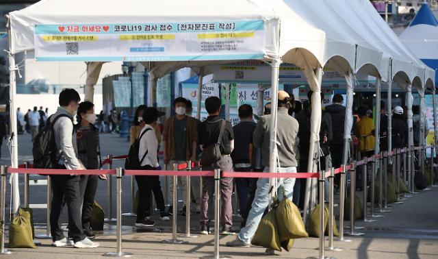 """韩国疫情""""节""""后重生再创新高 防疫告急"""