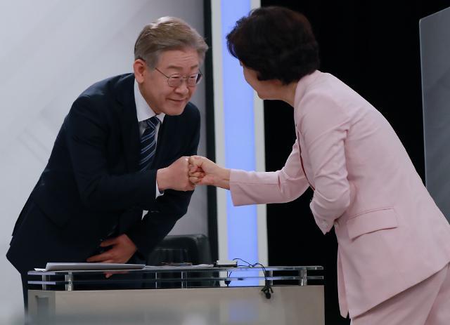 """이재명 수호 나선 추미애...""""이낙연, 국힘 논리로 대장동 공격"""""""