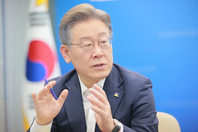 """이재명 """"토건 기득권 해체…부동산 불로소득 공화국 깨뜨릴 것"""""""