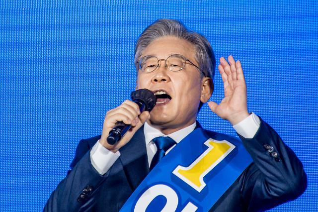 [與 대선 경선] 이재명, 전북서 54%로 1위 재탈환...김두관, 전격 사퇴