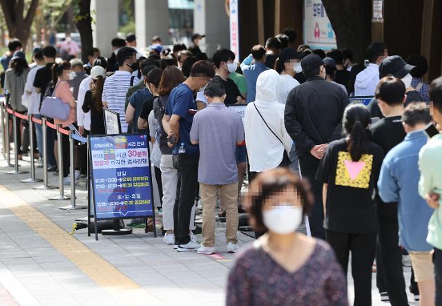韩国新增2383例新冠确诊病例 累计303553例