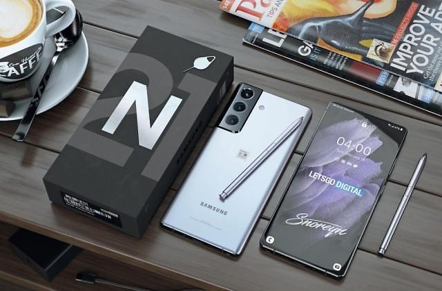安卓机皇三星Galaxy S22渲染图曝光 S系列或与Note系列合并