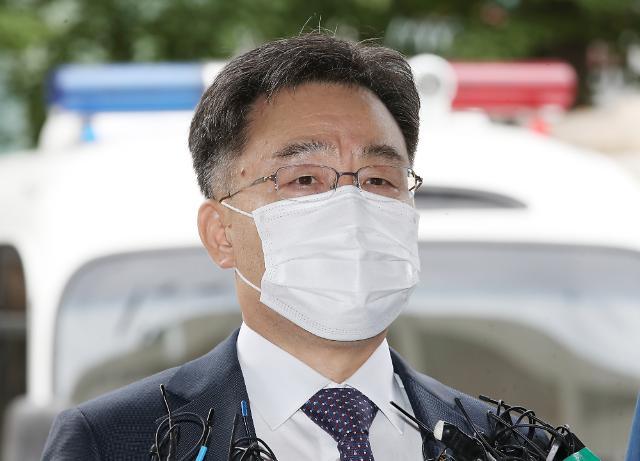 [포토] 화천대유 대주주 김만배 경찰 출석