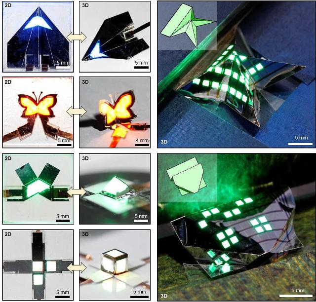 State researchers develop core technology for production of foldable QLED display