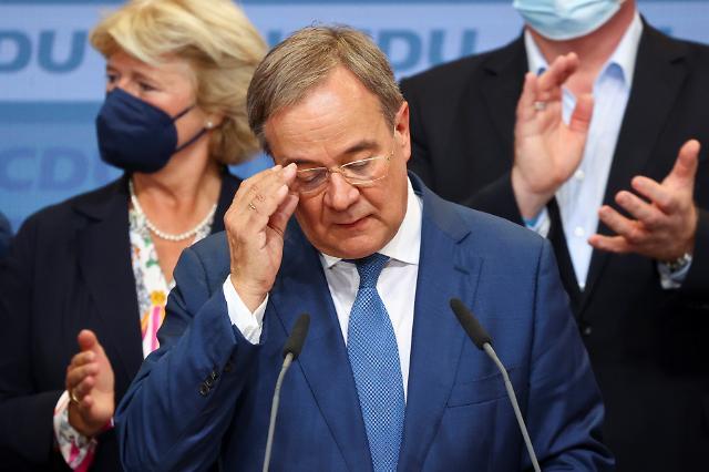 [포스트 메르켈] 사민당, 16년 만 제1당 탈환...여당 패배는 메르켈 후임 라셰트의 실패