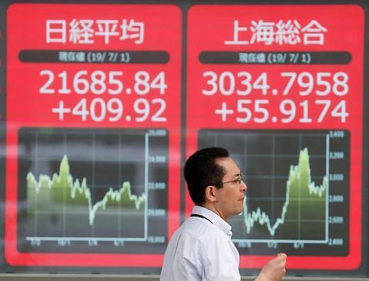 [아시아증시 마감] 중국발 악재로 투심 위축…일본 증시 2%대 급락