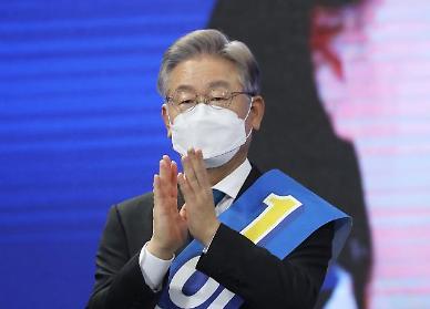 [핫뷰] 본선 청신호 이재명 30% 육박...윤석열 27.1%