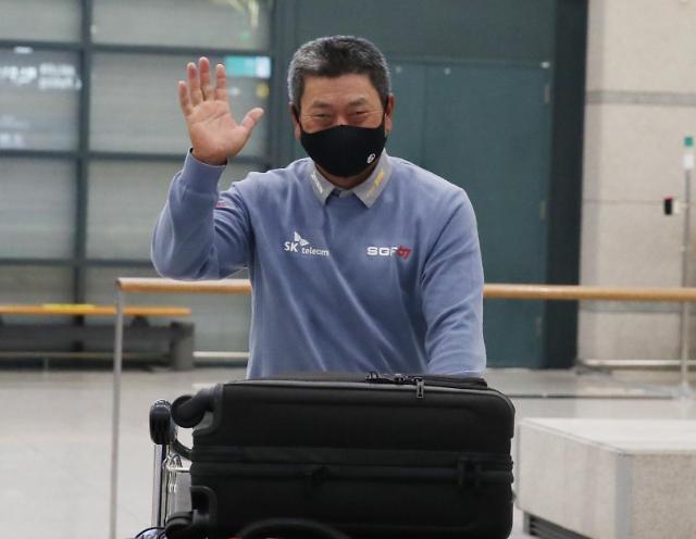한국인 최초 우승한 최경주, 약속 지키기 위해 귀국