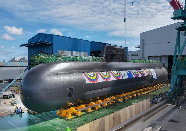 S. Korea launches 3rd 3,000-ton attack submarine capable of firing ballistic missiles