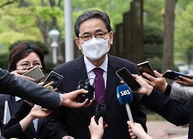 """곽상도, 의원직 사퇴 '거부'… """"수사에 적극 임하겠다"""