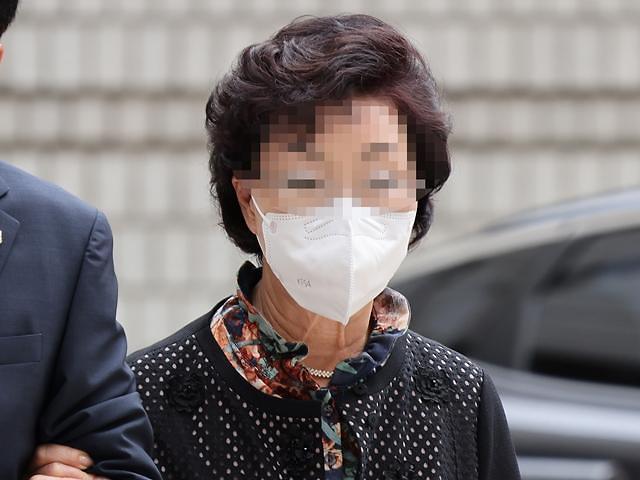 尹 장모 2심 재판부