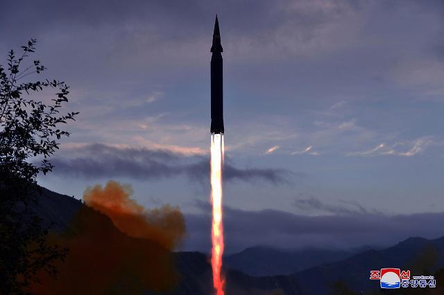 朝鲜试射火星-8型超高音速导弹