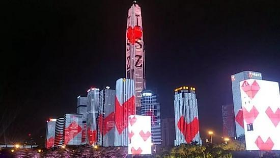 레이저쇼는 사치 중국 전력난에 국경절 연휴도 암흑천지