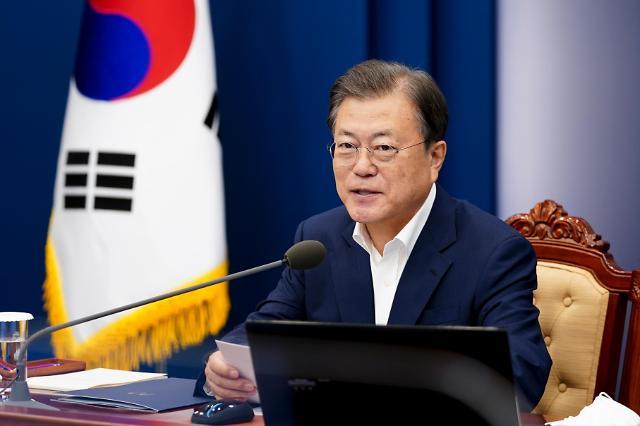 韩政府将公布新版防疫规定 文在寅或于10月接种加强针