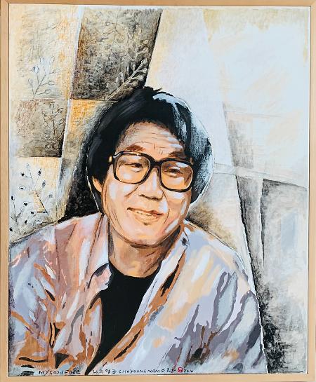 """[빈섬 이상국의 뷰] 그림展으로 돌아온 조영남, """"난 지금처럼 살겠다"""""""