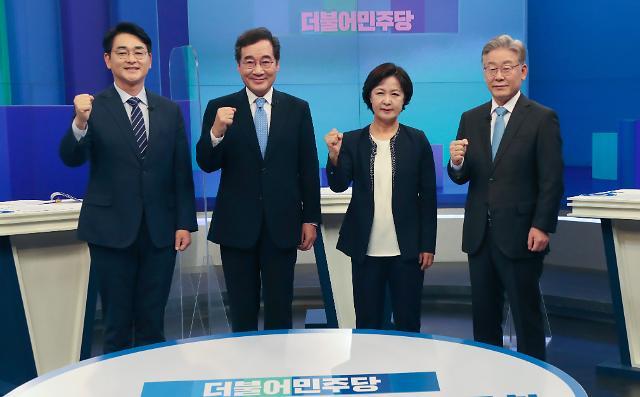 """이재명 """"민주당 후보로서 국힘 공격 않고 날 공격""""...이낙연 """"공격 안 했다"""""""