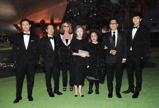 韩影人亮相奥斯卡电影博物馆开幕晚会