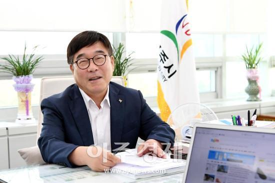 """신동헌 시장, """"다양한 세대와 함께하는 건강증진 조성 노력할 것"""""""