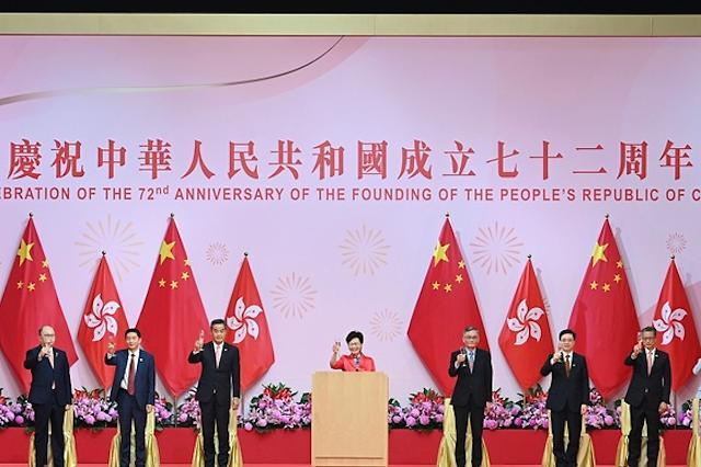 [NNA] 홍콩 행정장관, 中 국경절 축사 통해 공산당 찬양