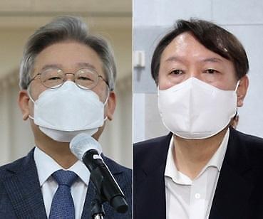 [아정대] 대장동 의혹에도 이재명 28.3%, 윤석열 28.0%, 홍준표 16.7%, 이낙연 11.9%