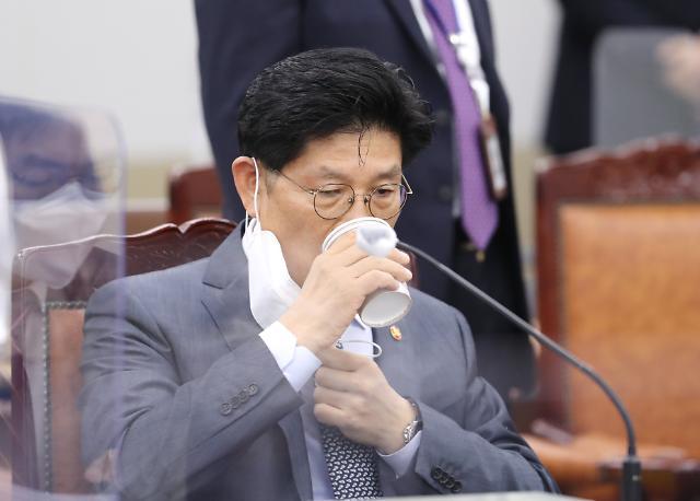 """[2021 국감] 노형욱 """"임대차법 따른 이중전세가 인지…공급 부족은 미스매치 때문 """""""