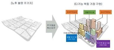LH, 수원·안양·대전서 주거재생혁신지구 국가시범 사업 추진