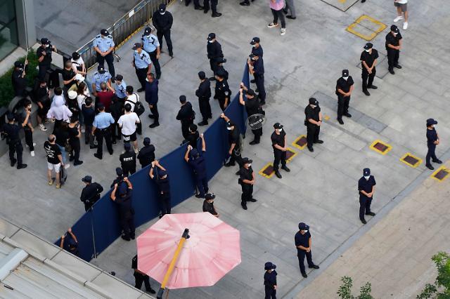 파산 위기 헝다그룹, 180억원 수수료 체불로 피소