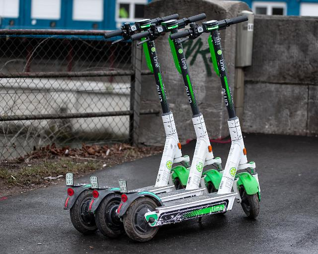 Daegu to adopt ordinance to prevent electric scooters from being left unattended on sidewalks