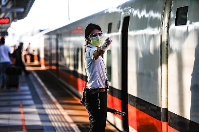 [NNA] 타이완 전염병지휘센터, 철도 자유석 판매재개 허용