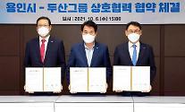 斗山、京畿道龍仁市に先端技術R&Dセンターの建立