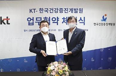 KT ties up with health institute to develop elderly digital healthcare service