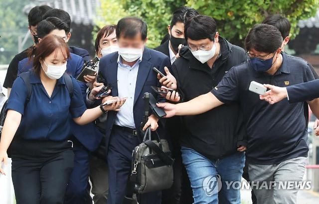 천화동인 1호 이한성 대표 검찰 이어 경찰 출두